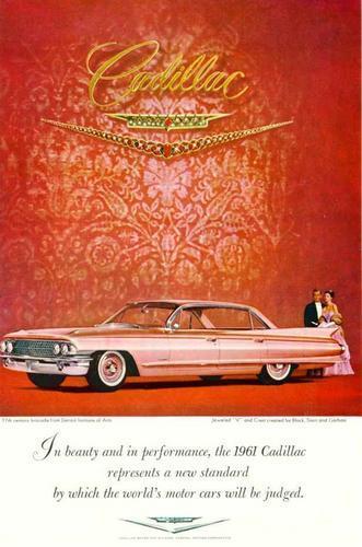 1961 Cadillac Sedan deVille Ad