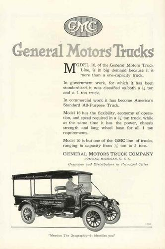 1920 GMC Truck Ad