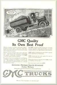 Old General Motors Cars and Truck Ads