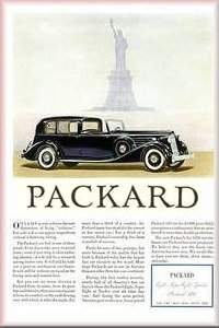 Old Packard Ads