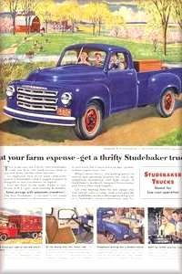 The Studebaker Truck Ads A model for all your needs